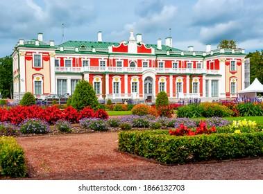 Kadriorg palace and gardens in summer, Tallinn, Estonia