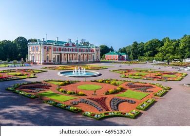 Kadriorg Palace in Tallinn, Estonia