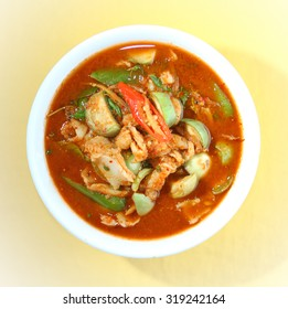 Kaeng Pa Fish is Thai food, fish curry delicious spicy.