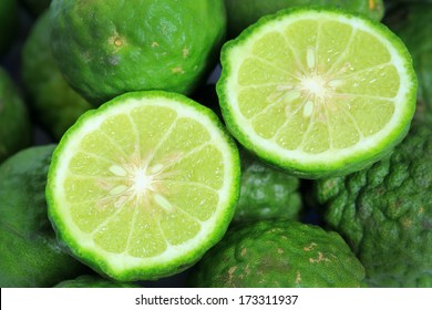 Kaffir Lime is a fruit native to Indochinese.