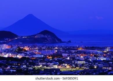 Kagoshima night view