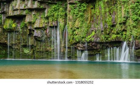 Kagoshima Prefecture Ogawa waterfall