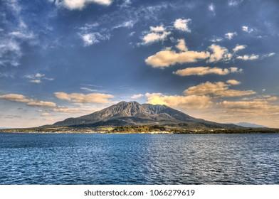 Kagoshima volcano - Japan