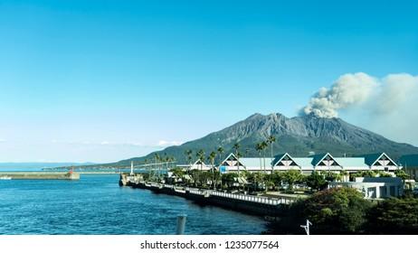 Kagoshima volcano - Sakurajima