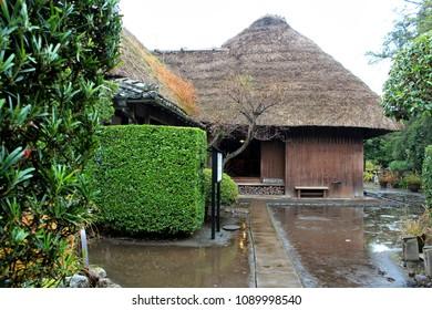 Kagoshima,Japan -  Dec 1,2012:Samurai House of Chiran,Kagoshima Tourist destination to learn the history of Japan