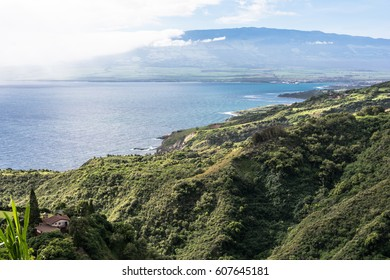 Kahului Bay coast, Maui, Hawaii