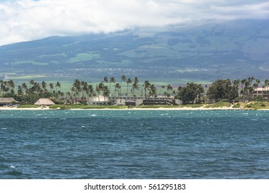 Kahului beach in Maui, Hawaii