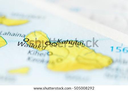 Kahului Hawaii Map.Kahului Hawaii Usa Stock Photo Edit Now 505008292 Shutterstock
