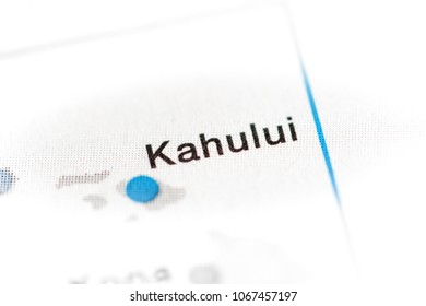 Kahului, Hawaii, USA on a map.
