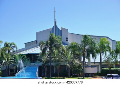 KAHULUI, HI -30 MARCH 2016- The King's Cathedral (First Assembly of God Church) in Kahului on the Hawaiian island of Maui.