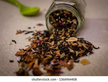 Kahwa tea dried leaves