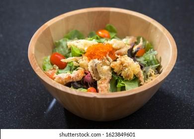 Kai gani shell crab salad a taste of Japanese food