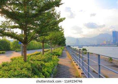the Kai Tak Runway Park at kowloon city