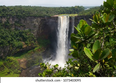 Kaieteur Falls. Guyana, Amazon rainforest