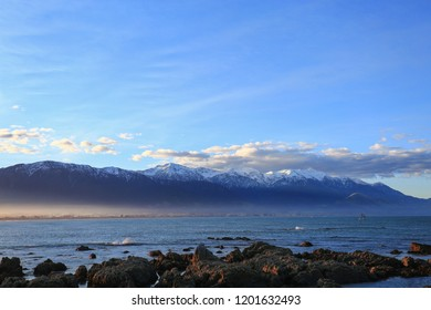 Kaikoura Seashore New Zealand