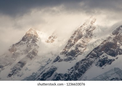 The Kailash mountain range, Indian Himalaya