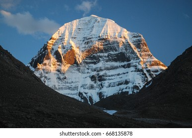 Kailash. The north face of the mountain. Western Tibet.