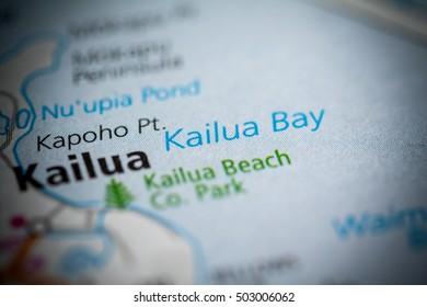 Kailua Bay. Hawaii. USA