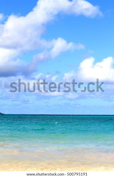 Kailua beach in Hawaii