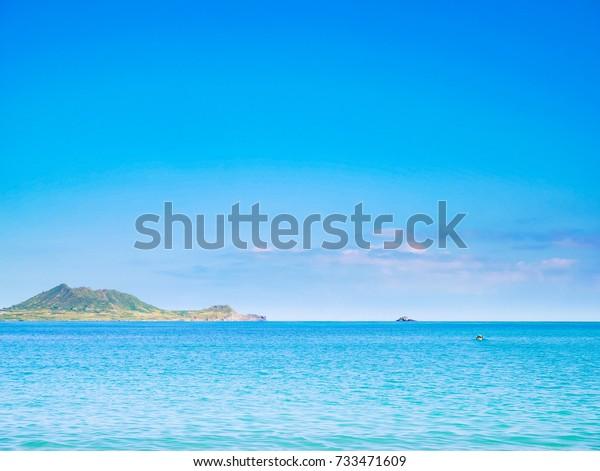 Kailua Beach Park Kailua Town Oahu Stock Photo Edit Now