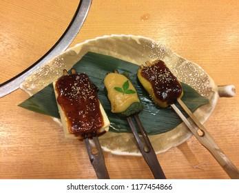 Kaiseki dish served in Gifu Japan