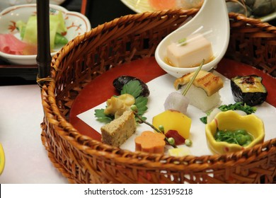 Kaiseki Japanese food