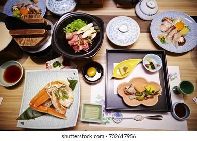 Kaiseki, traditional Japanese meal