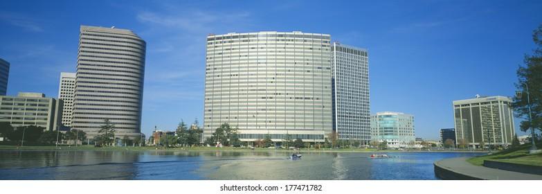 Kaiser Building, Lake Merritt, Oakland, California
