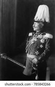 Kaiser Wilhelm II of Germany, c. 1918. After the collapse of German armies, Wilhelm abdicated on Nov. 9, 1918. He went into exile with his family into Netherlands