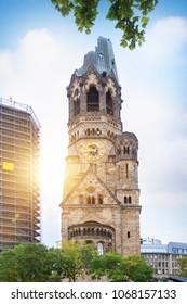 Kaiser Wilhelm Memorial Church in Berlin, Germany