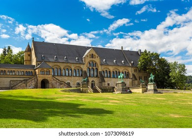 The Kaiserpfalz in Goslar in a beautiful summer day, Germany