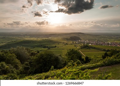 Kaiserstuhl, Germany sunset
