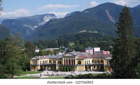 The Kaiservilla in Bad Ischl was beautiful summer residence of Emperor Franz Joseph and Empress Sisi Elizabeth in Austria