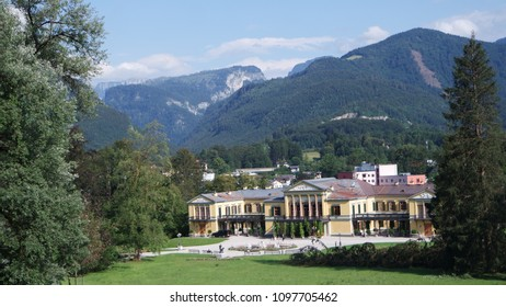 The Kaiservilla in Bad Ischl was nice summer residence of Emperor Franz Joseph and Empress Sisi Elizabeth in Austiria