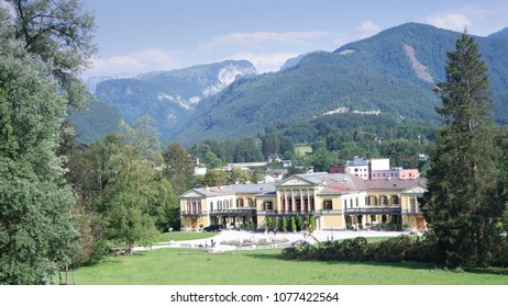 The Kaiservilla in Bad Ischl was summer residence of Emperor Franz Joseph and Empress Sisi Elizabeth in Austria