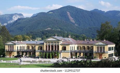 Kaiservilla in Bad Ischl summer residence of Emperor Franz Joseph and Empress Sisi Elizabeth in Austria