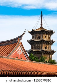 Kaiyuan Temple, Quanzhou, China. Chinese classical architecture.