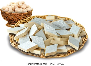 KAJU KATLI MADE BY DRY FRUITS AND MILK