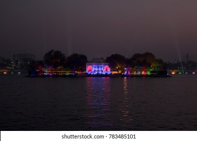 Kakariya Lake during night, Ahmedabad India