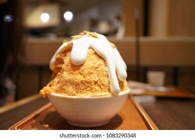 Kakigori (Japanese shaved ice)