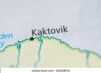 Kaktovik Alaska Map.Kaktovik Alaska Usa Stock Photo Edit Now 564258898 Shutterstock
