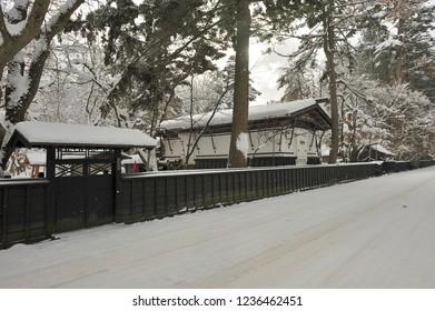 Kakunodate of snow