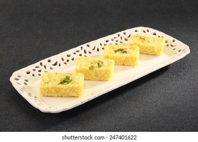 Kalakands Variety with Pistachio