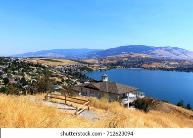 The Kalamalka lake view near Vernon, BC