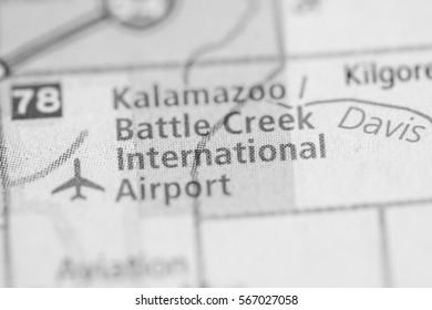 Kalamazoo / Battle Creek International Airport. Michigan. USA