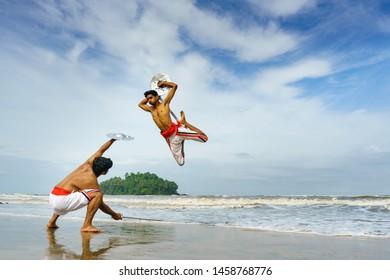 Indian Martial Arts Images, Stock Photos & Vectors