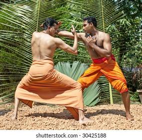 Kalarippayat,  indian ancient martial art of Kerala, India