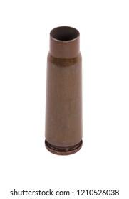 Kalashnikov Gun Shell Isolated