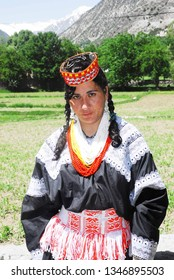 Kalash/Pakistan - May 14, 2011 : Beautiful Kalash Girl, Pakistan
