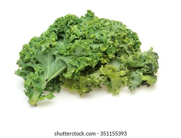 Kale in a white background